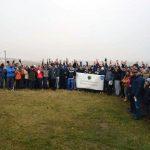 Amplă acțiune de împădurire la Ciugud organizată de Cluburile Rotary Alba Iulia și Rotary Alba Iulia Civitas Solis