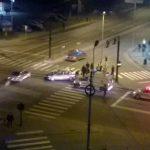 """Persoană rănită în urma unei coliziuni între două autovehicule petrecută în intersecția din apropierea Stadionului """"Cetate"""", din Alba Iulia"""