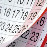 Calendarul zilelor libere pentru anul 2017