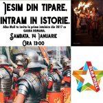 """Garda Romană va avea, astăzi la Centrul Comercial """"Alba Mall"""" din Alba Iulia, prima reprezentație din anul 2017"""