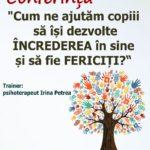 """Luni, 27 Martie 2017: Psihologul Irina Petrea vă dă întâlnire la Alba Iulia, în cadrul proiectului național """"Un părinte mai bun"""""""