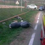 Dosar penal pentru un motociclist de 41 de ani din Ciugud, după ce a condus băut și a provocat un accident rutier soldat cu rănirea unei persoane