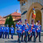 Ceremonial militar de Ziua Jandarmeriei Române, în Piaţa Tricolorului din Alba Iulia