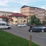 Coliziune între un autoturism și o autoutilitară, în cartierul Tolstoi din Alba Iulia