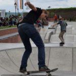 """Rideri de bmx, role, skateboard și trotinetă se întrec în trick-uri, în prima zi de """"Bastion Session"""" 2017"""
