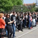 """Elevi de la 15 unități de învățământ gimnazial au vizitat Colegiul Economic """"Dionisie Pop Marțian"""" din Alba Iulia, de Ziua Porților Deschise"""