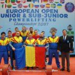 Comportare exemplară a sportivilor albaiulieni la Campionatul European de Powerlifting, de la Malaga – Spania