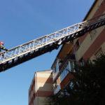 Intervenție a pompierilor pentru deblocarea ușii unui apartament din Alba Iulia, în care se afla o femeie decedată