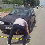 Femeie de 22 de ani transportată de urgență la spital, după ce a fost rănită în urma unui accident rutier petrecut pe strada Clujului din Alba Iulia