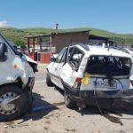 Trei persoane au fost rănite, în urma unui carambol în care au fost implicate trei autoturisme, pe șoseaua de centură a Municipiului Alba Iulia