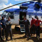 Exercițiu de salvare derulat de jandarmii albaiulieni, la Luncile Prigoane