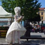 În ce de-a doua zi a ALBA FEST 2017, statuile vivante au invadat Piața Cetății din Alba Iulia