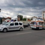 Biciclist de 42 de ani lovit de un autoturism, pe o trecere de pietoni situată pe strada Ion I. C. Brătianu din Alba Iulia