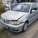 O persoană a fost rănită după ce două autoturisme au intrat în coliziune, în zona magazinului Ambient din Alba Iulia
