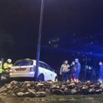 Două persoane rănite, după o coliziune între un taxi și un autoturism petrecută în zona Spitalului Județean din Alba Iulia