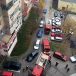 O persoană s-a intoxicat cu fum, în urma unui incendiu izbucnit la un apartament situat pe strada Ampoiului din Alba Iulia