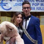 Karina Alexăndroae și Adrian Lodroman au câștigat titlurile de Miss și Mister Boboc 2017 ai Colegiului Economic din Alba Iulia