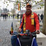 Ștefan Hodi, un lugojean de etnie maghiară a venit pentru a 15-a oară în ultimii 18 ani, la Alba Iulia, cu bicicleta