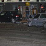 """Coliziune între două autoturisme, petrecută în intersecția de lângă Hotelul """"Cetate"""" din Alba Iulia, cauzată de neacordarea de prioritate"""