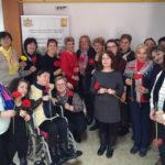 """Beneficiarele Centrului de servicii acordate în comunitate """"Sfântul Meletie"""" din Alba Iulia sărbătorite cu ocazia Zilei Internaționale a Femeii"""