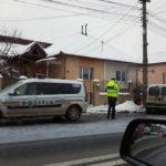 Bărbat de 53 de ani rănit, după ce a derapat și s-a izbit cu o autoutilitară de un stalp de energie electrică situat pe Bulevardul Încoronării din Alba Iulia