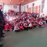 """Jandarmii albaiulieni în vizită la Școala Gimnazială """"Avram Iancu"""" din Alba Iulia"""