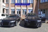 Autoturisme căutate de autorităţile din Germania, depistate de poliţişti în Municipiul Alba Iulia