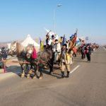 """Convoiul de căruțe """"DRUMUL UNIRII"""" plecat din Maramureș a ajuns la Alba Iulia"""
