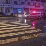 Femeie rănită după ce a fost lovită de o mașină, pe o trecere de pietoni de lângă sediul ACR din Alba Iulia