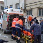 Un bărbat de 35 de ani care lucra la reabilitarea unei clădiri din Alba Iulia s-a prăbușit de la o înălțime de 10 metri