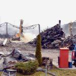 Cauza probabilă a incendiului care a distrus Fabrica Solina din Alba Iulia, un scurtcircuit la stația de încărcare a acumulatorilor pentru electrostivuitoare