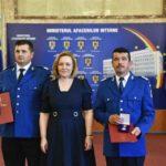 Jandarmi din Alba recompensați cu placheta de onoare a M.A.I., după ce au salvat două persoane rătăcite în Munții Șureanu