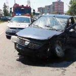 Minor de 16 ani rănit în urma unui accident rutier petrecut pe strada Alexandru Ioan Cuza din Alba Iulia