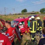 Accident rutier soldat cu trei persoane rănite, pe centura ocolitoare a municipiului Alba Iulia